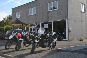 R4 moto's Skyteam; dax, YCF pitbike, Husqvarna, Kymco scooters