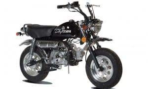 Skymini zwart - Skyteam - r4 moto's Gent Oost Vlaanderen