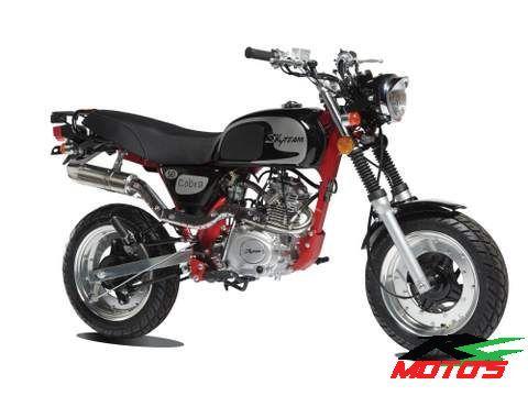 cobra zwart skyteam r4 moto's Destelbergen gent Oost vlaanderen