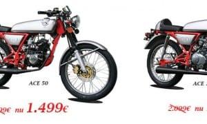 Actie Skyteam Ace 125cc en Ace-R 125cc