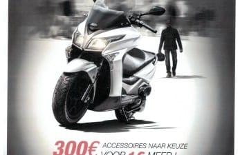 300€ accessoires naar keuze voor 1€ meer